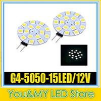 Wholesale G4 SMD LED Marine Camper Car Bulb Lamp V W Warm White Light High Intensity spotlight