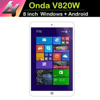 Onda windows 8 tablet - 2015 New Real gb Dual Systems Tablet Onda V820w windows Android Inch Ips x800 Screen mah Bluetooth Micro Hdmi Camera
