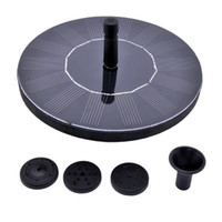 fountain pump water - New Water Pumps Floating Solar Pump Panel Power Fountain Pool Garden Plants Watering Kit VB177 W0
