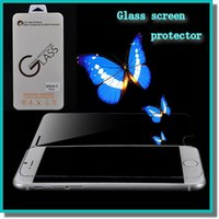 china wholesale - Atention china D mm H Tempered Glass Film Screen Protector for iphone6 inch iphone6 plus With Retail Package