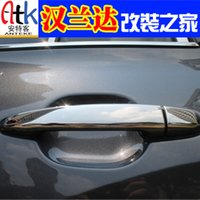 Wholesale case for Toyota case for Hanlandala hand outside handle stainless steel exterior door handles car modification dedicated special