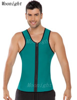 Wholesale 151204 Ultra Sweat Caballero Chaleco Men s Support Sweat Enhancing Waistband Fajas para Sudar Waist Training Corset Fitness Shapwear