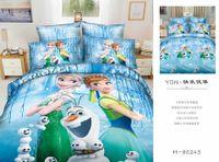 bedding lines - 3D Cinderella Bedding Set Bedding Sets Elsa Anna Bedclothes Quilt Cover Bed Line Set Cartoon Kids Grey Frozen Duvet Covers Sets