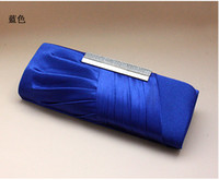 bag hand make - 2015 Blue Sliver Cheap Bridal Wedding Hand Bags Mini Shell Pattern Woman Dinner Bag Fashion Lady Party Handbag Made in China In Stock WX