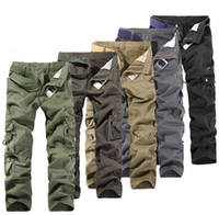 Wholesale MEN S CASUAL PANTS MILITARY ARMY CARGO CAMO COMBAT WORK PANTS TROUSERS Cargo Pants