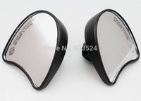 batwing mirrors - Black Batwing Fairing Mount rear view Mirrors For Harley Tri Street Glide Electra Glide FLHT FLHX Ultra Classic order lt no track