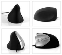 Wholesale Wired Ergonomic Vertical Optical USB Mouse Wrist Healing for Laptop PC Tide