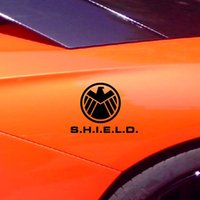 Wholesale Agents of SHIELD waterproof cool vinyl wrap reflective tape car sticker for car door engine hood and so on