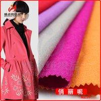 wool fabric coat - Top Special Offer Streetwear Woolen Manufacturers Selling Autumn Ladies Made It Pretty Woollen Coat Of Wool Fabrics
