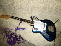left hand - Retail Newest Left Handed Guitar Blue Jaguar Electric Guitar