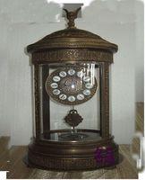 antique marble clocks - Rotunda antique clocks Copper Marble Clocks Mechanical European home Western Clock