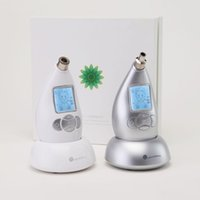 Wholesale 2016 New Multifunctional Diamond Microdermabrasion Facial Beauty Machine V Skin Massage Remove Stretch Marks White Sliver Color hot sale