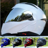 Wholesale the china flip up motorcycle helmet dual lens racing cross motorcycle helmet S XXL SIZE almost the same quality to LS2 FF370