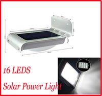 Wholesale HOT YY Solar Powered LED Wall Lamp Solar light Solar Panel LED Energy saving lamp LED Wall Lamp Outdoor Garden Yard light