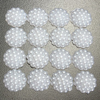 Wholesale 50 mm Resin Round White Flat Back Scrapbooking DIY Crafts Art Phone Decors Home Decorations Beauty Decor Tools Hotting