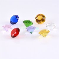 Wholesale glass diamond for Wedding hocrystal diamond color mm K9 use decoration and party gifts favor