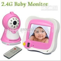 Wholesale 2 G Baby monitor inch TFT LCD wireless digital baby monitors with night vision