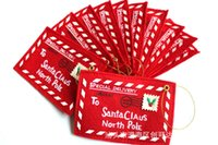 acrylic christmas ornaments - 10pcs Christmas tree ornament folding Envelope Christmas Cards Candy Bag Christmas tree decoration party decoration