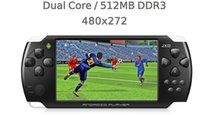 Wholesale Portable GB JXD S602B Android Gravity Game Console Player inch Touch Game HDMI Movie ZKT