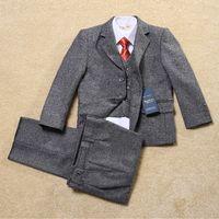 Wholesale Hot Sale Classic Fashion Children Suits for Party Occasion Customized Boy Suits Set Jacket Pants vest Kids Blazer