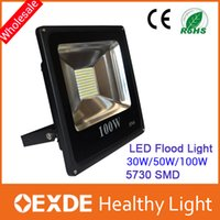 LED 100w led - DHL Hot Sales W W W W Outdoor Waterproof Led Floodlights Warm Cool White IP65 Flood Lights V oexde
