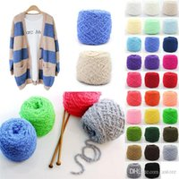 Wholesale Hot Sales Clothing Fabric Knitting Wool Yarn Balls Soft Cashmere Crochet Skein Woven Short plush Weight g CX47