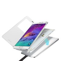 Cheap For SAMSUNG Galaxy Note 4 SM-N910 Wireless Qi Charging Charger Cover Case EP-CN910I