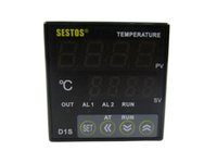 Wholesale Hot sale Sestos Dual Digital Pid Temperature Controller Omron Relay Output Black D1S VR
