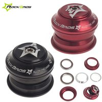 Wholesale RockBros Sealed Cartridge Bearings Bike Bicycle Parts Threadless Semi Integrated Headset CNC mm quot x mm Color