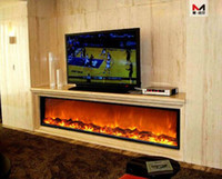 electric fireplace - 1800 mm remote control big size insert electric fireplace no heat
