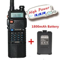 Wholesale Baofeng walkie talkie UV B6 W Version UV HX High Power w two way radio accessories battery