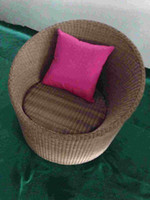 aluminum rattan chair - Production and supply of rattan sofa chair