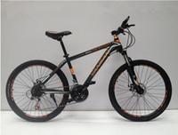 bicycle thumb shifter - 26 inch mountain bike Shan Yan Eurostar No EF Thumb shifter speed Double Disc Brakes Tall Man Bicycle Road D Bike