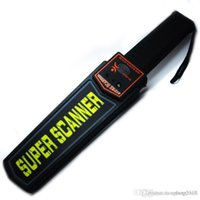 Wholesale Portable Handheld Industrial Metal Detectors Professional Super Scanner Tool Finder for Security Checking