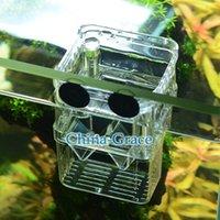 aquarium fish - S Size Aquarium Fish Tank Isolation Suspension Hatching Box Acrylic Breeding Accessories Boxes Double Layers Young Fish