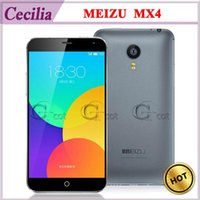Wholesale 4G LTE MEIZU MX4 Octa Core Android Smartphone MTK6595 inch FHD Gorilla Screen GB GB MP Flyme OS Cell Phone Stock in HongKong