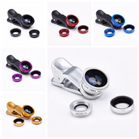 Cheap Universal 3 in 1 Clip On Fish Eye Best 3 in 1 Fish Eye Lens 180 Degree