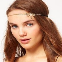 big foreheads - 2015 New Hair Clip Hair Clip Para El Pelo Curler H043 Big Jewelry Small Fresh Design Diamond Dragonfly with Bands Led Forehead Accessories