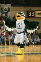 Costume personnalisé de taille de masque de mascotte d'Eagle
