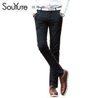 Wholesale New Arrival Men s Pants New Cotton Waist Pants Feet Slim Straight Men s Casual Pants Hot Sale