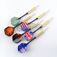 Wholesale 18 sets electroplate copper Steel Needle streamline Tip Dart Darts fast