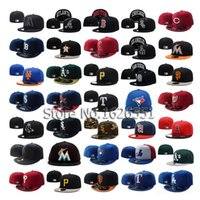 Wholesale Brand MLB NHL sports team cap for baseball Snapback Fitted hat Cotton Spring Summer Fall Woman Man Fashion Design