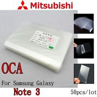 Wholesale OCA Optical Clear Adhesive For Samsung Note3 N900 Double Side Sticker Glue for Mitsubishi um thick
