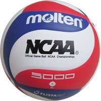 Wholesale Brand New Official Weight Size PU Molten Volleyball Soft Touch Ball Laminated Volleyball NCAA5000 Training Balls