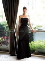 Cheap Strapless Black Bodycon Dresses Women Evening dress elie Saab Blusa De renda Prom Dress Formal Occasion a2104