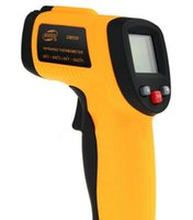 Wholesale 1 Digital Temperature Thermometer Gun Non Contact LCD IR Laser Infrared