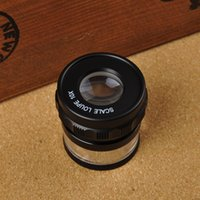 Wholesale Optical Lens Magnifier X20mm dual scale purpose handheld magnifier original high quality optical lens