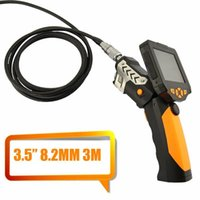 Wholesale 3 quot LCD Inspection Camera With M Probe and mm Lens Borescope Endoscope Zoom Snake Camera
