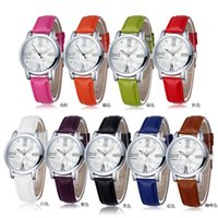 Cheap New Fashion Casual Watches Wrist Watches Japan Quartz Watches Movement Colock For Women Dress 9 Color