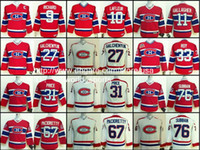 Jeunesse Montréal Carey Price 31 76 P.K. Subban Galchenyuk 27 33 Canadiens Patrick Roy 9 Rouge Blanc CH Nhl Hockey Jerseys Ice 10 11 etc enfants